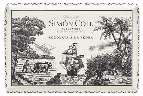 Chocolate a la Piedra 200 grs Simon