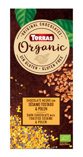 Organic Sesamo Tostado y Polen Torras
