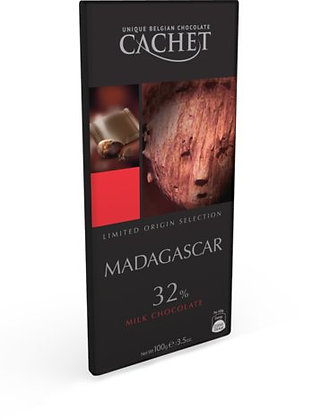 Chocolate Madagascar 100 grs Cachet