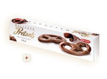 Pretzel Chocolate leche 75 grs. Carletti