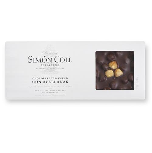 Turron 70% cacao Avellanas Simon Coll.jpg