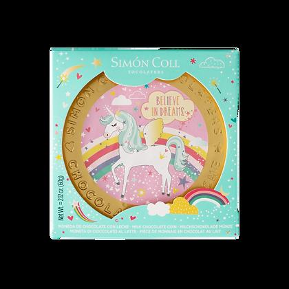 14 Medallón Unicornio 60 grs. Simon Coll