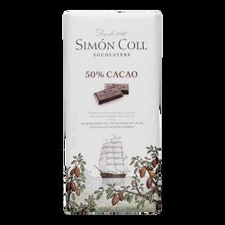 TABLETA CHOCOLATE 50 % CACAO SIMON