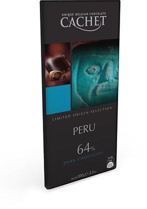Chocolate Perú 100 grs. Cachet