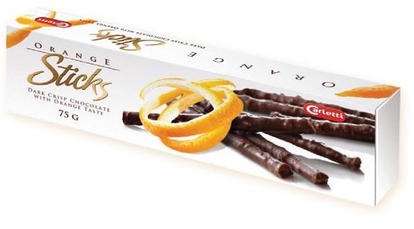 Orange Sticks Dark Crips Chocolate