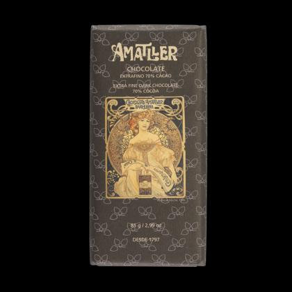 Tableta Chocolate 70% 85 grs Amatller