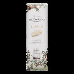 chocolatina 25 gr simon coll blanco