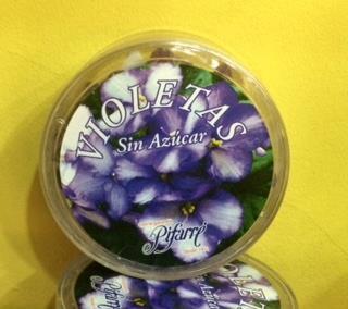 Polveras Violetas Sin Azúcar 77 grs Pifarré