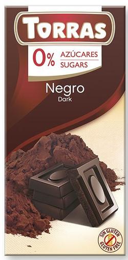 chocolate negro sin azucar 75 g. Torras_edited