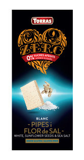 Zero Blanco Pipas y Flor de Sal Torras