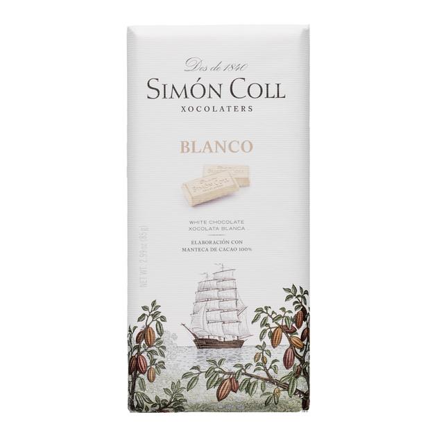 TABLETA CHOCOLATE BLANCO 85 GRS. SIMON COLL