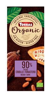 Organic Torras 90 % Cacao