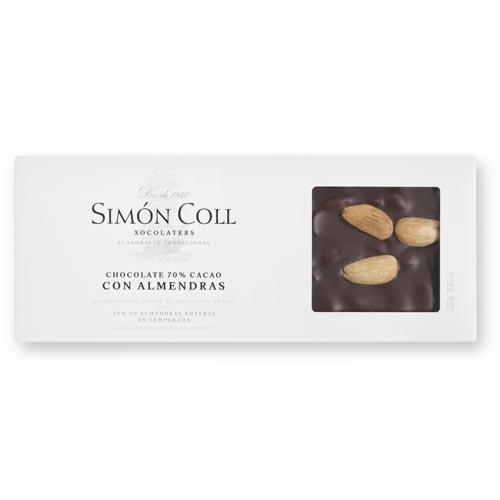 Turron chocolate 70% con almendras Simon Coll.jpg