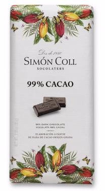 Chocolate 99 % cacao Simon Coll