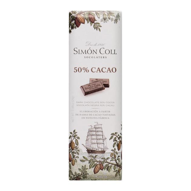 Chocolatina 25 gr 50 % cacao