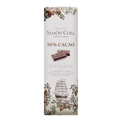 Estuche 14 Chocolatinas 50% cacao 25 grs Simon