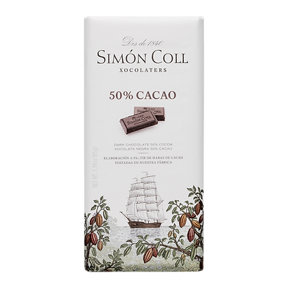 Chocolate Negro 50% 85 grs Simon