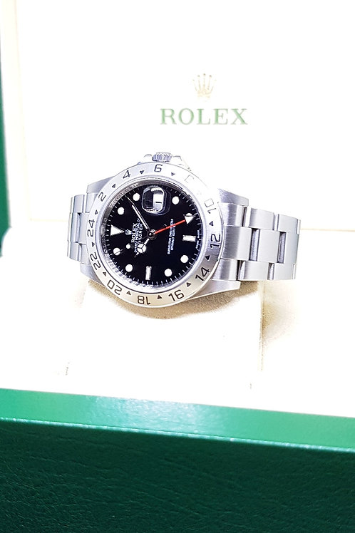 Rolex Oyster Perpetual Black 3186 Explorer 2 REF: 16570