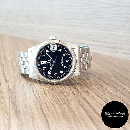 Tudor Black Prince Date Dress Wristwatch (By Rolex)(2)