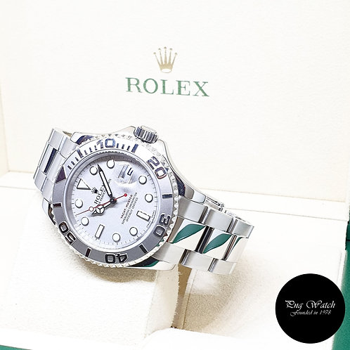Rolex Oyster Perpetual Platinum 40mm Yachtmaster REF: 16622 (K Series)