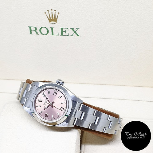 Rolex 26mm Ladies No Date Oyster Perpetual REF: 76080