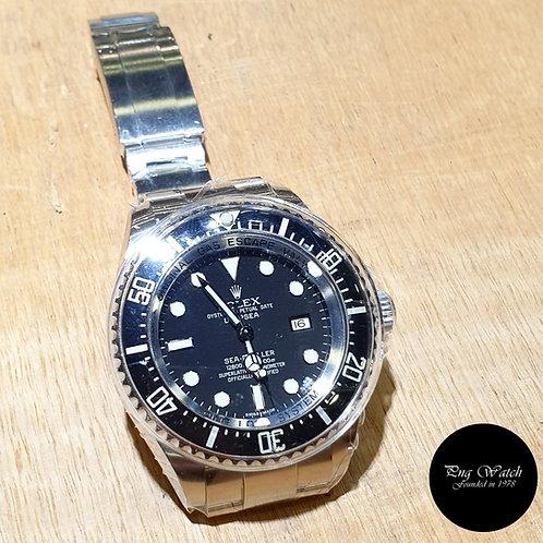 "Rolex Oyster Perpetual Black Sea Dweller ""DEEPSEA"" REF: 116660 (G)(2)"