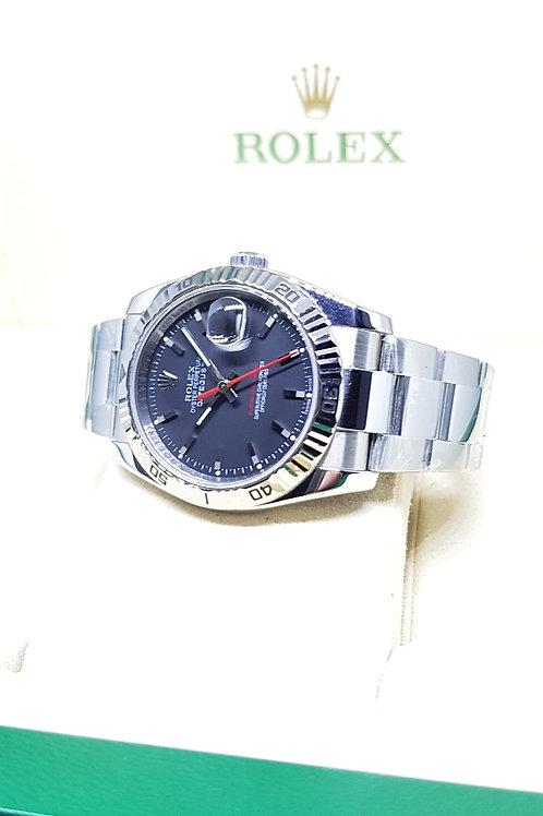 "Rolex Oyster Perpetual Matte Black ""Turn-O-Graph"" REF: 116264"