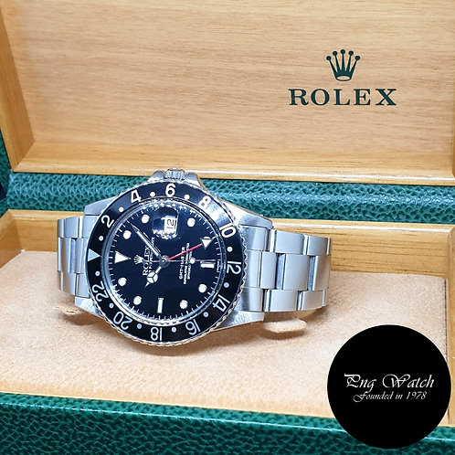 Rolex Oyster Perpetual Black GMT Master REF: 16750