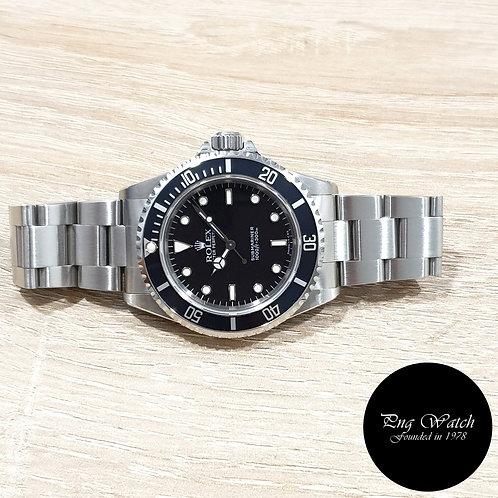 Rolex Oyster Perpetual Tritium No Date 2 Liner Submariner REF: 14060 (2)