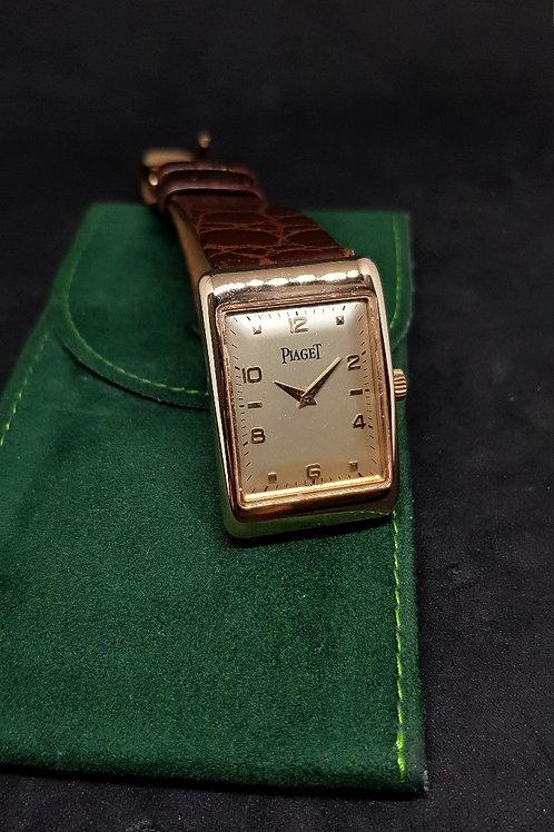 Classic Vintage Piaget 18K Rose Gold Manual Winding Watch REF: 9952