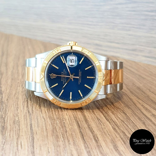 "Rolex 18K Half Gold Blue Index ""TOG"" Datejust REF: 16263 (2)"