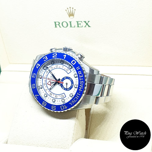 Rolex Oyster Perpetual 44mm Steel Yachtmaster II REF: 116680 (2013)