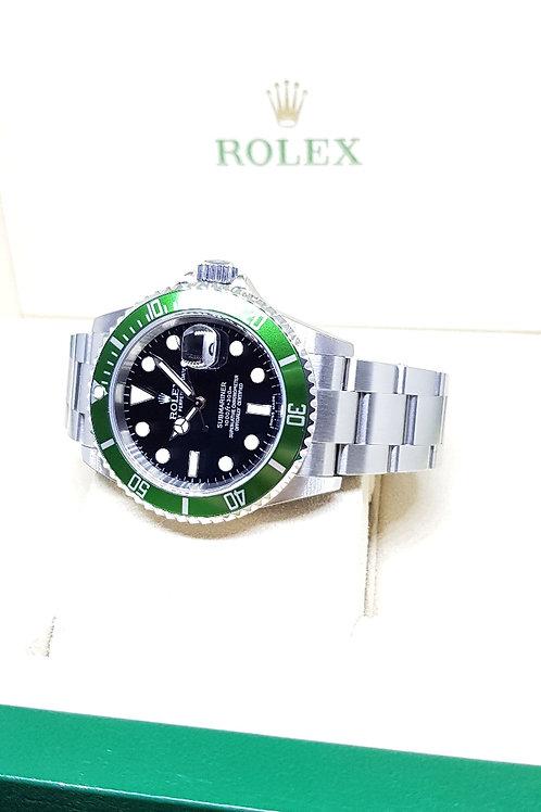 "Rolex Oyster Perpetual Date ""Kermit"" Submariner REF: 16610LV"