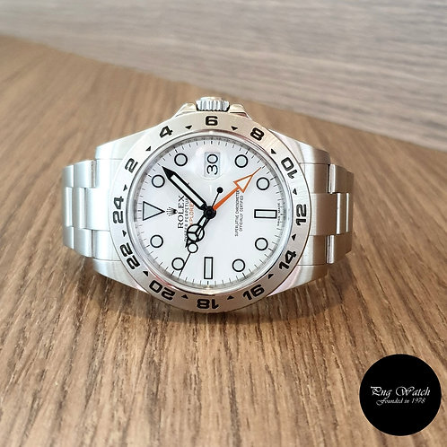 Rolex Oyster Perpetual White 42mm Explorer 2 REF: 216570 (2012)(2)