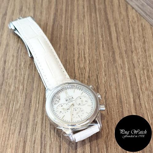 Omega De Ville Co-Axial Chronograph in White MOP Dial (2)