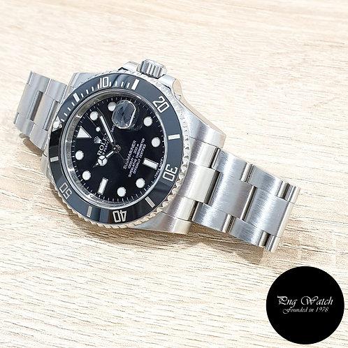 Rolex Oyster Perpetual Ceramic Black Steel Submariner Date REF: 116610LN (G)(2)