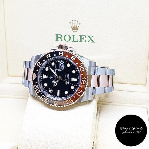"Rolex 40mm 18K Half Rose Gold ""ROOTBEER"" GMT Master 2 REF: 126711CHNR (2020)"
