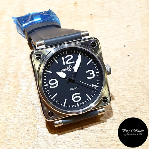 Bell and Ross 46mm Steel Watch REF: BR01-92 (2)