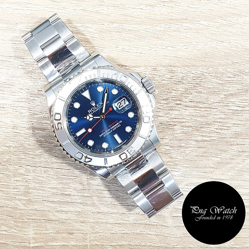 Rolex Oyster Perpetual Blue Yachtmaster REF: 116622 (AN)(2)