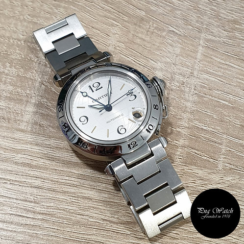 Cartier 35mm Discontinued Globus GMT C Pasha REF: 2377 (2)