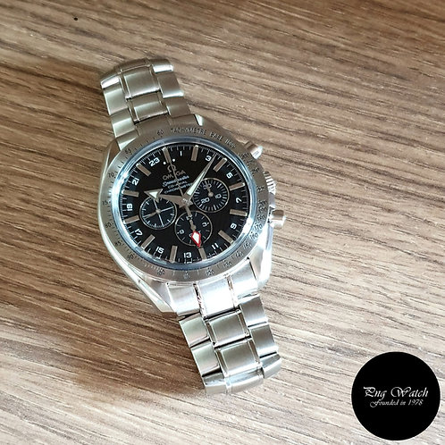 Omega Broad Arrow Speedmaster Co-Axial GMT Chronograph REF: 3581.50.00 (2)