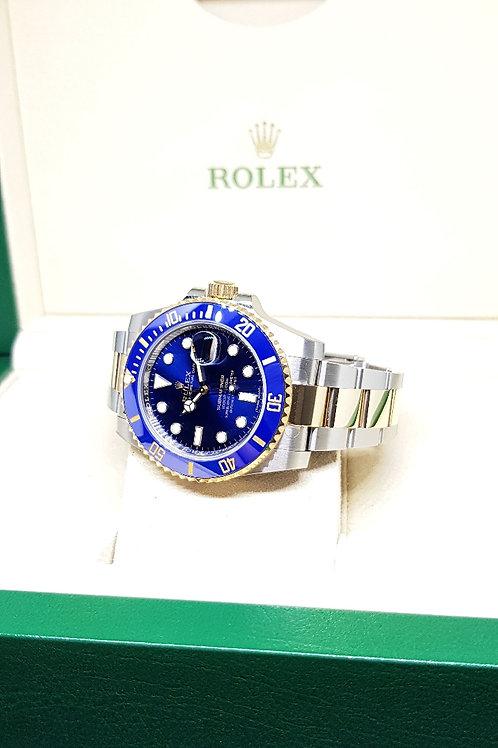 Rolex Sunburst Blue Ceramic Submariner REF: 116613LB