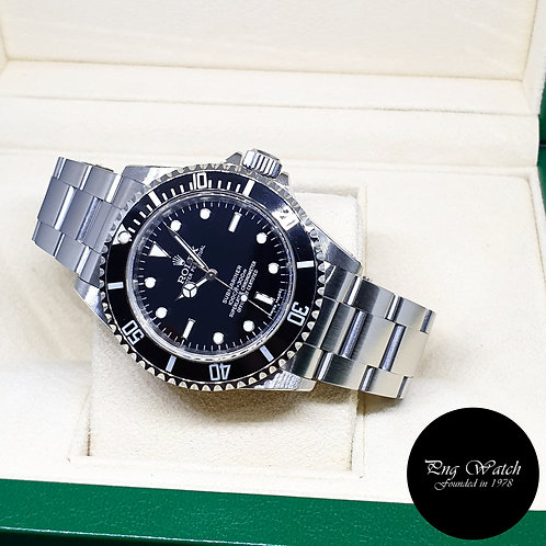 Rolex Oyster Perpetual 4Liner No Date Submariner REF: 14060M