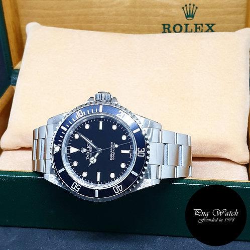 Rolex Oyster Perpetual No Date Tritium 2 Liner Submariner REF: 14060