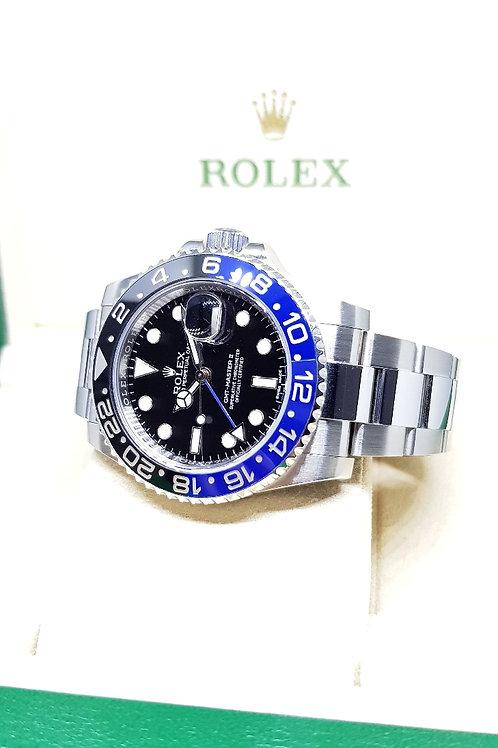 "Rolex ""BATMAN"" GMT Master 2 REF: 116710BLNR"
