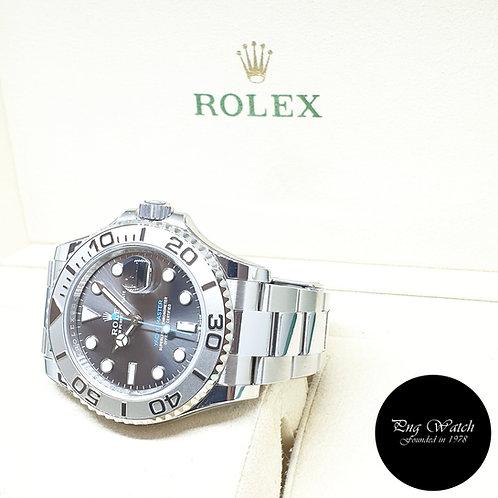 Rolex Oyster Perpetual 40mm Dark Rhodium Yachtmaster REF: 126622 (2020)