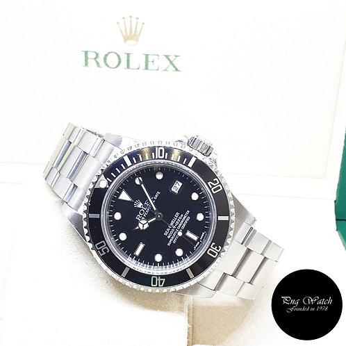 Rolex Oyster Perpetual Black Sea Dweller REF: 16600 (K Series)