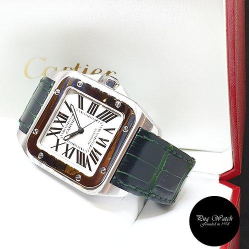 "Cartier Santos 100 ""Anniversary"" Automatic Watch REF: 2656"