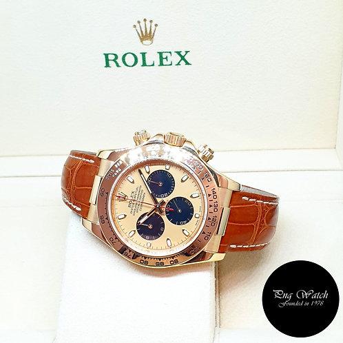 "Rolex OP 18K Yellow Gold Champagne ""Paul Newman"" Cosmograph Daytona REF: 116518"