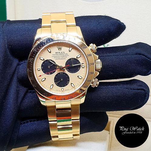 "Rolex 18K Yellow Gold Champagne ""Paul Newman"" Daytona REF: 116528 (2)"